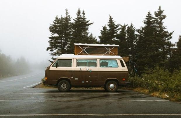 fourgon - camper van road trip