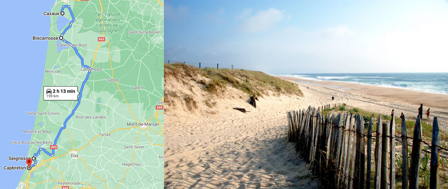 itineraire-camping-car-landes